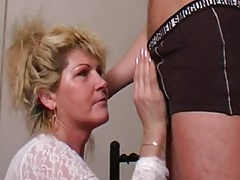 Mature Mother's Desire Comes True